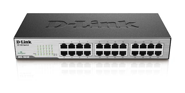 Switch DLINK 24-port Fast Eth Unmnged Desktop