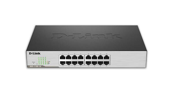 Switch DLINK 16-port EasySmart