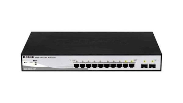 Switch DLINK 10-Port Gb Smart Mngd 2x SFP