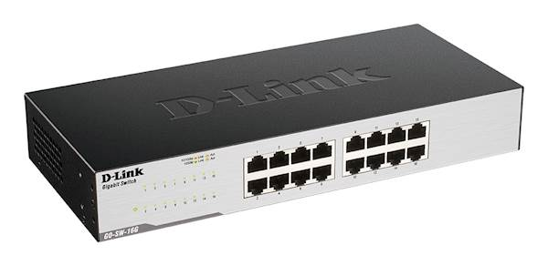 Switch DLINK 16-port 1Gb easy desktop