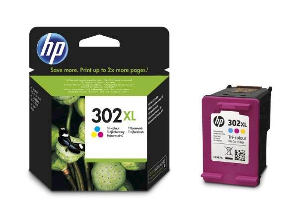 Tinta HP color 302XL