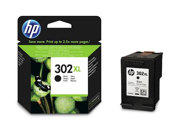 Tinta HP black 302XL