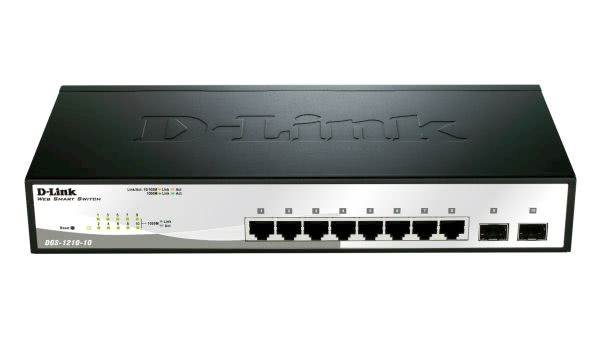 Switch DLINK 10-Port Gigabit Smart Managed