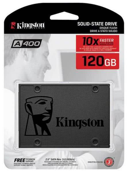 "SSD Kingston 120GB A400, 2,5"", SATA3.0, 500/320 MB/s"