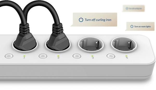 Produžni kabl DLINK Wi-Fi Smart Power Strip