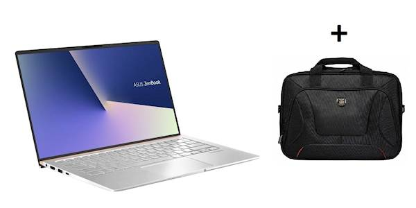 ASUS ZenBook 14 UX433FA-A5132T i7-8565U/8GB/SSD 256GB/FHD/W10 & Port Courchevel TopLoading 14/15.6""