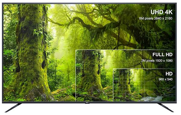 TV TCL LED 75EP660, Android, UHD, Metal Frame