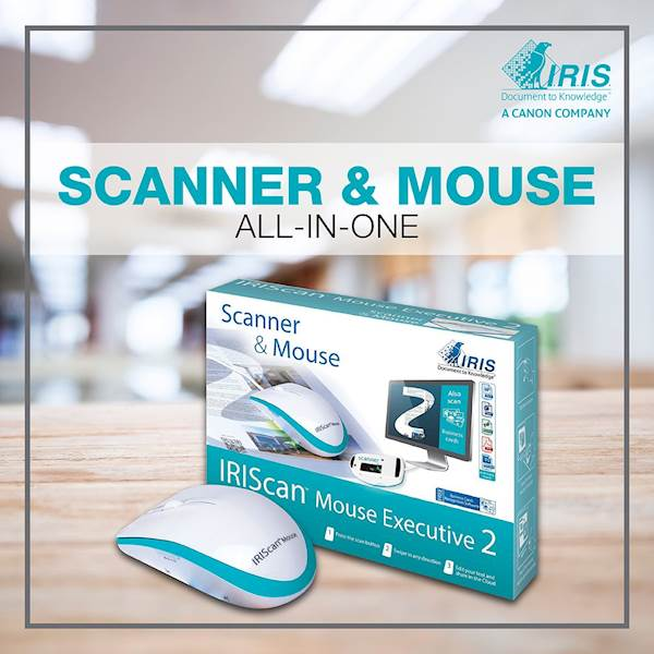 Skener IRIScan Mouse Executive 2