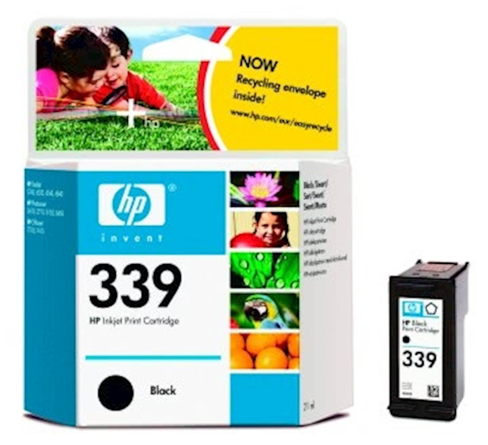 Tinta HP black 339