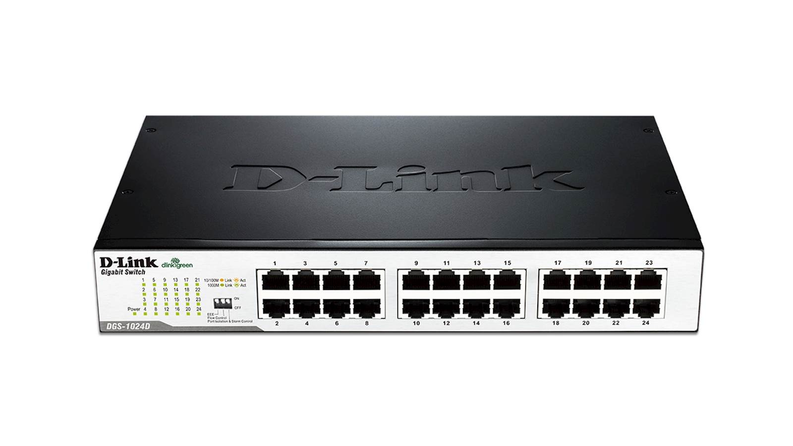 Switch DLINK 24-Port Gigabit Unmanaged Desktop
