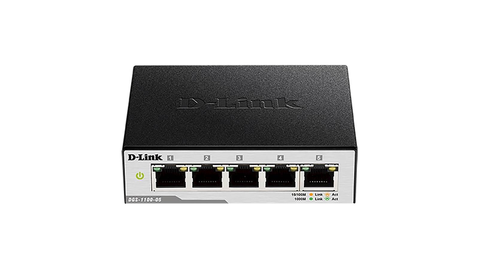Switch DLINK 5-Port Gigabit Smart Managed