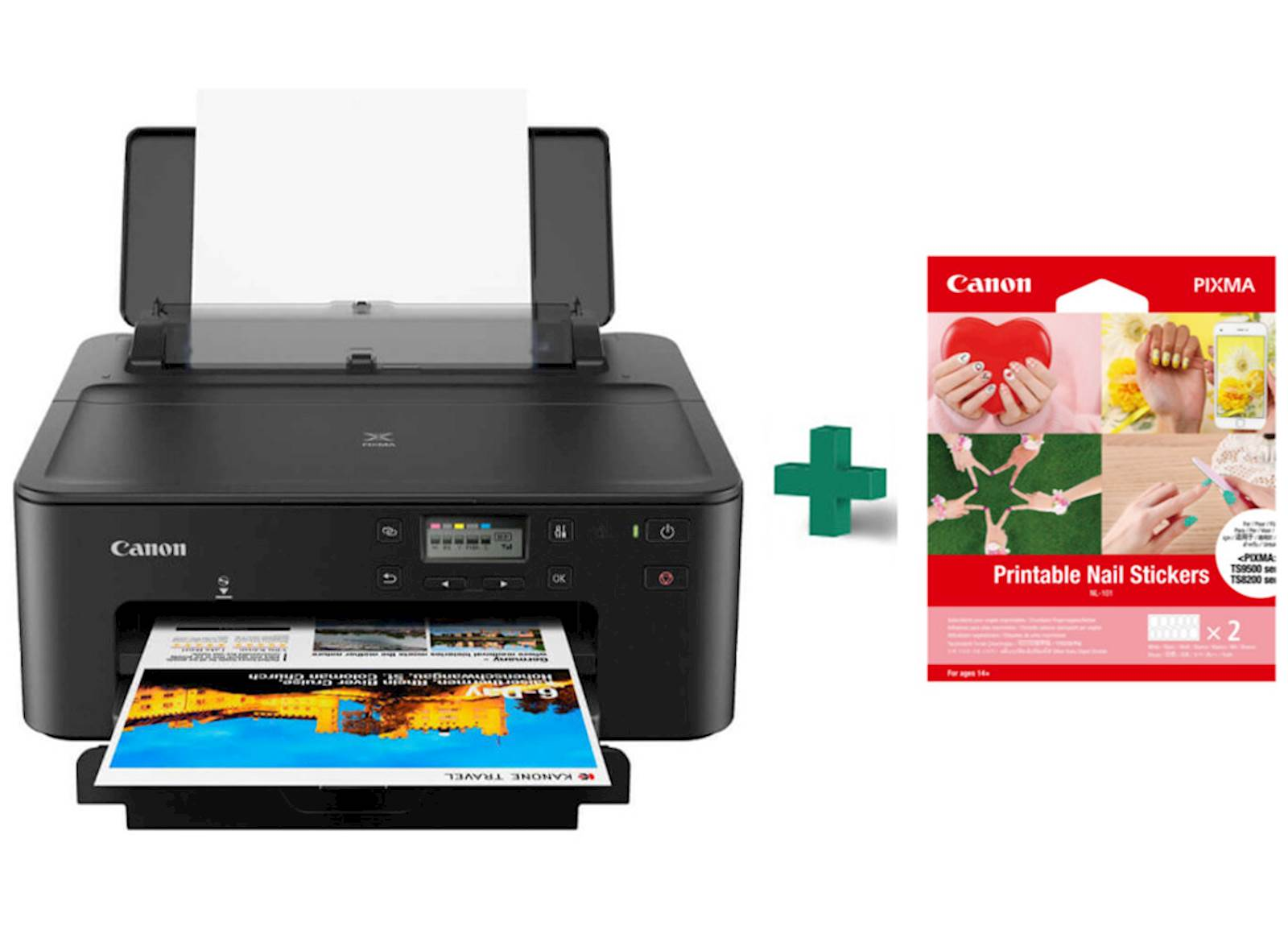 Printer CANON Pixma TS705 + Nail sticker NL101 bundle