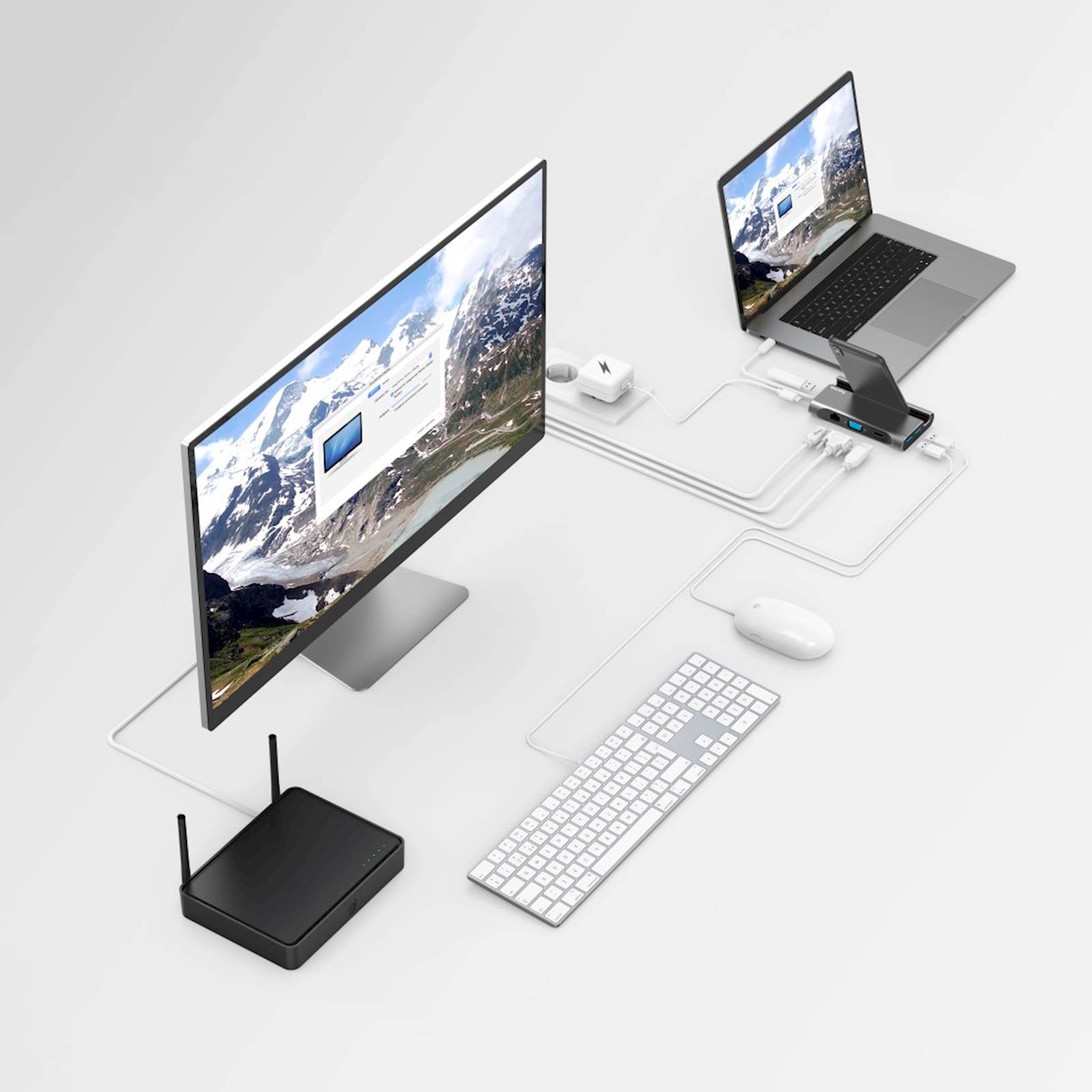 DOCKING STATION HAMA USB-C 7 IN 1